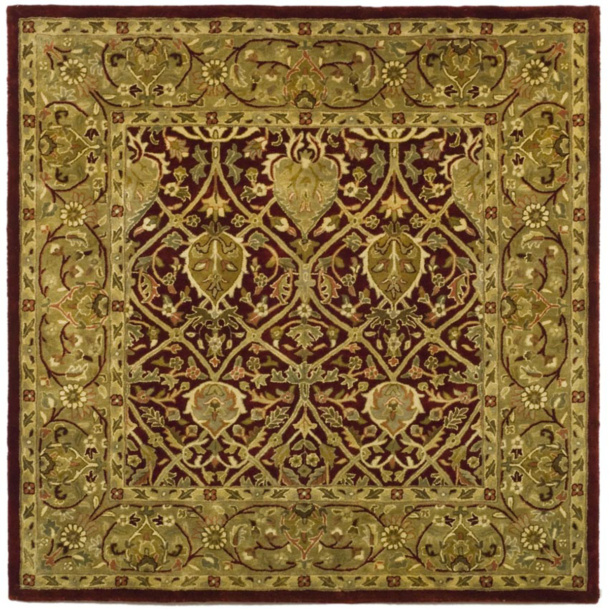 Safavieh Persian Legend Pl819k Red And Gold Area Rug Free Shipping