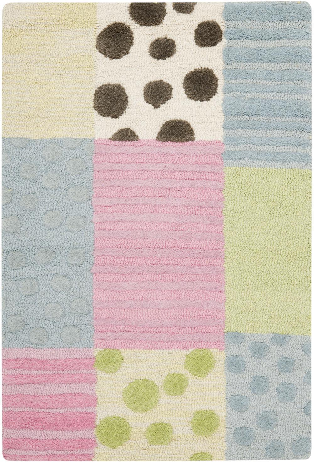 safavieh safavieh kids sfk322a blue and pink area rug bold rugs. Black Bedroom Furniture Sets. Home Design Ideas