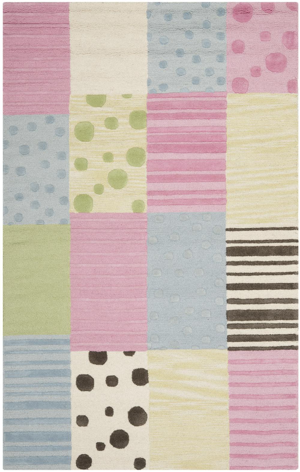 safavieh safavieh kids sfk322a blue and pink area rug free shipping. Black Bedroom Furniture Sets. Home Design Ideas