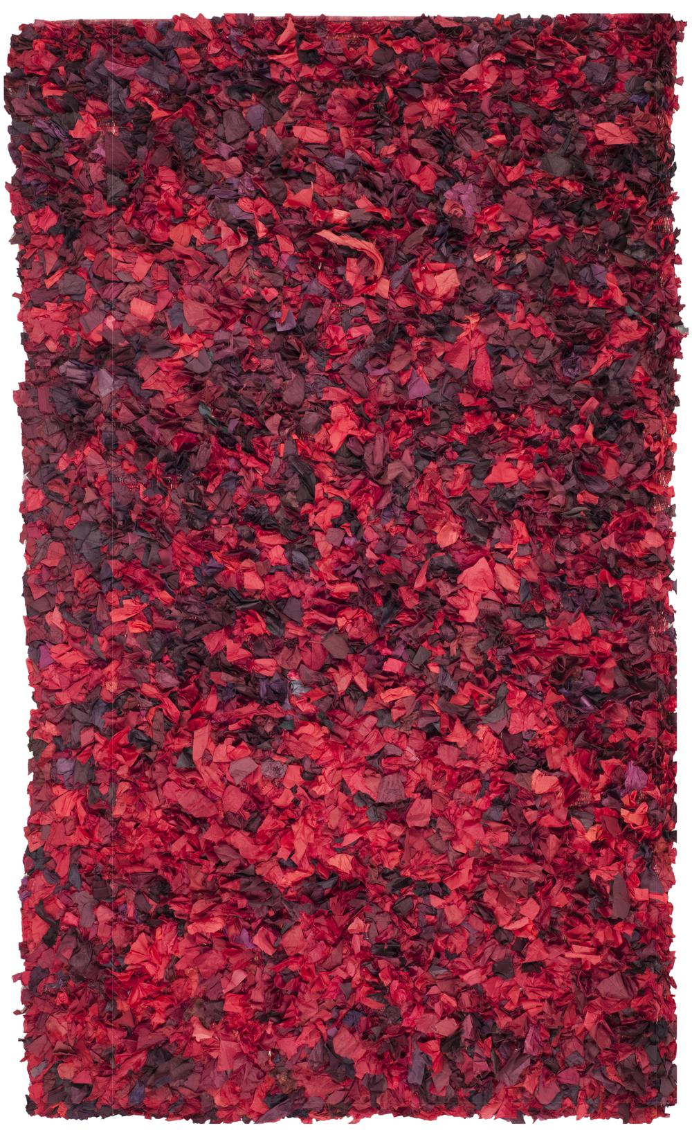 Safavieh Shag Sg951e Red And Multi Area Rug Free Shipping
