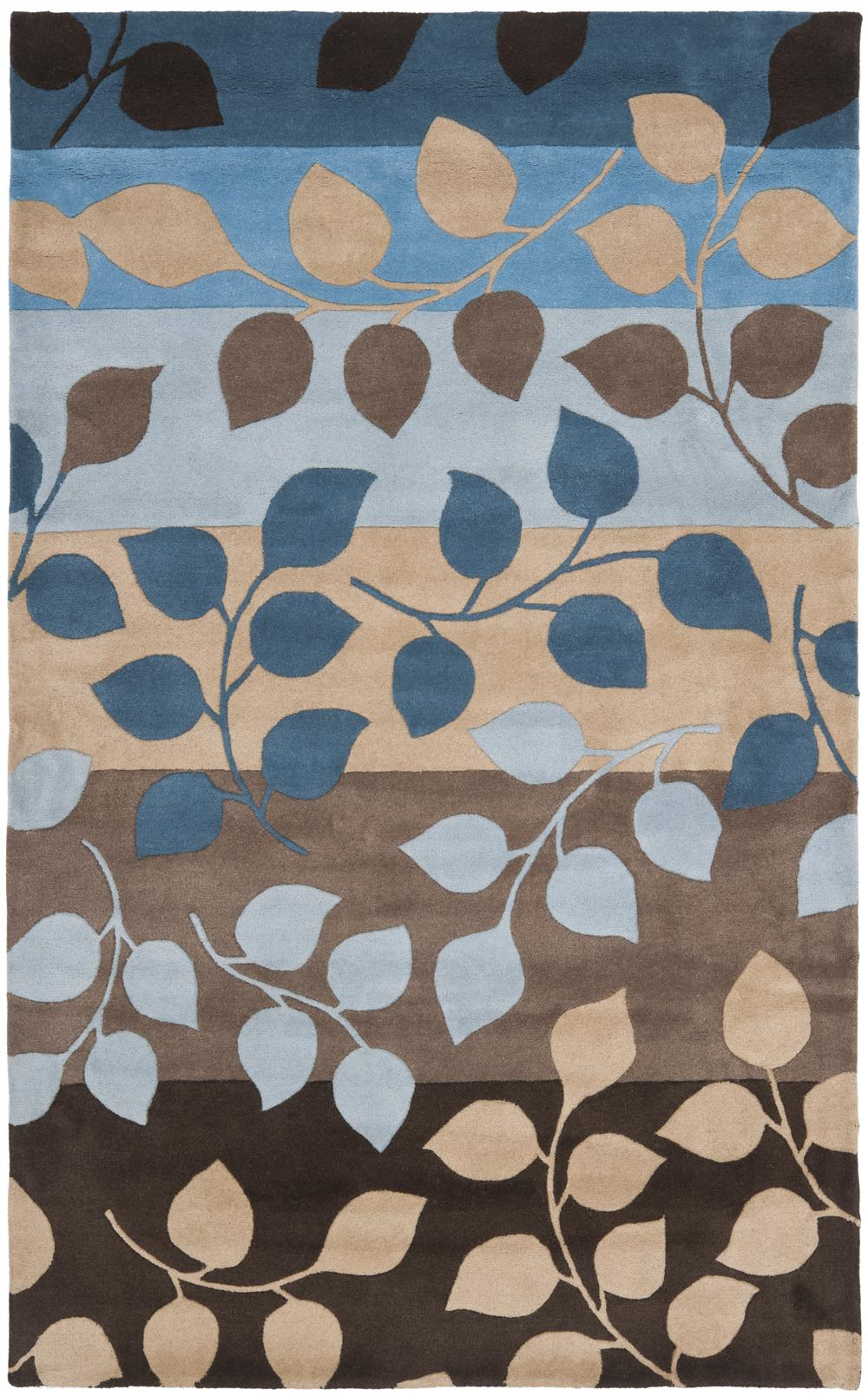 Safavieh Soho Soh785b Brown And Blue Area Rug Free Shipping