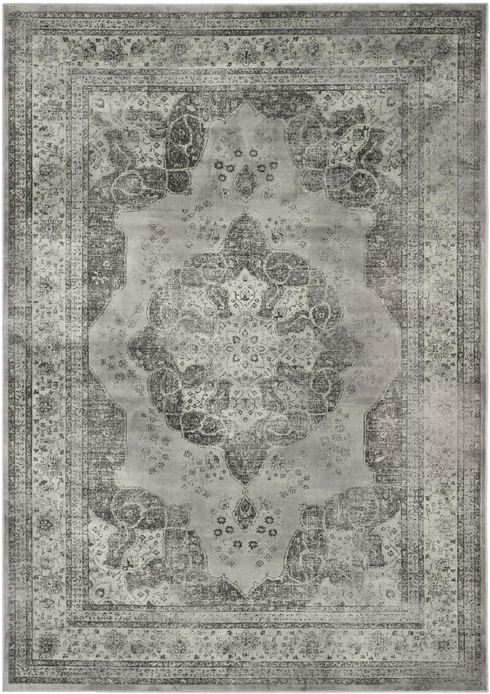 Safavieh Vintage Vtg158 770 Grey And Multi Area Rug Free