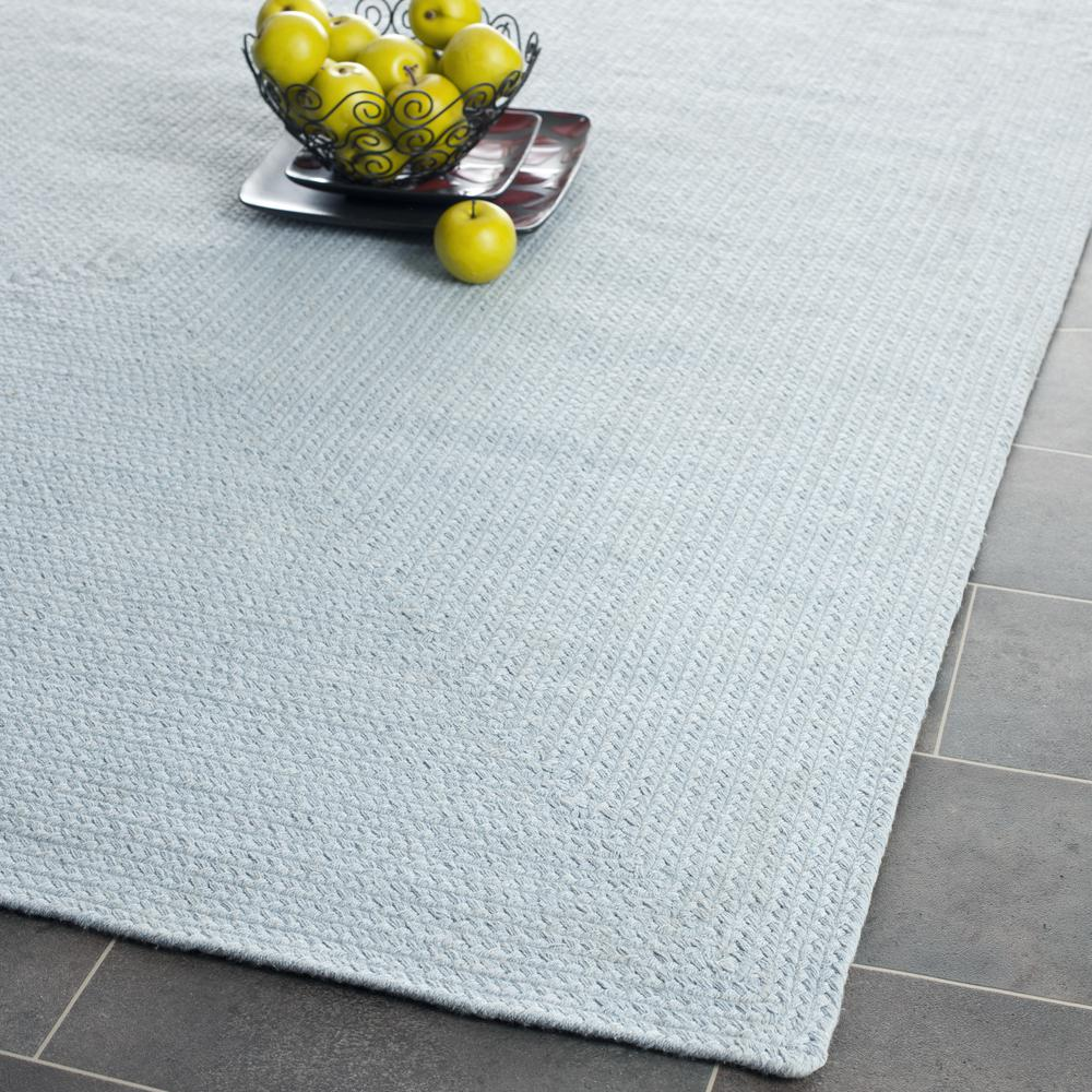 Safavieh Braided Brd176a Light Blue Area Rug Free Shipping