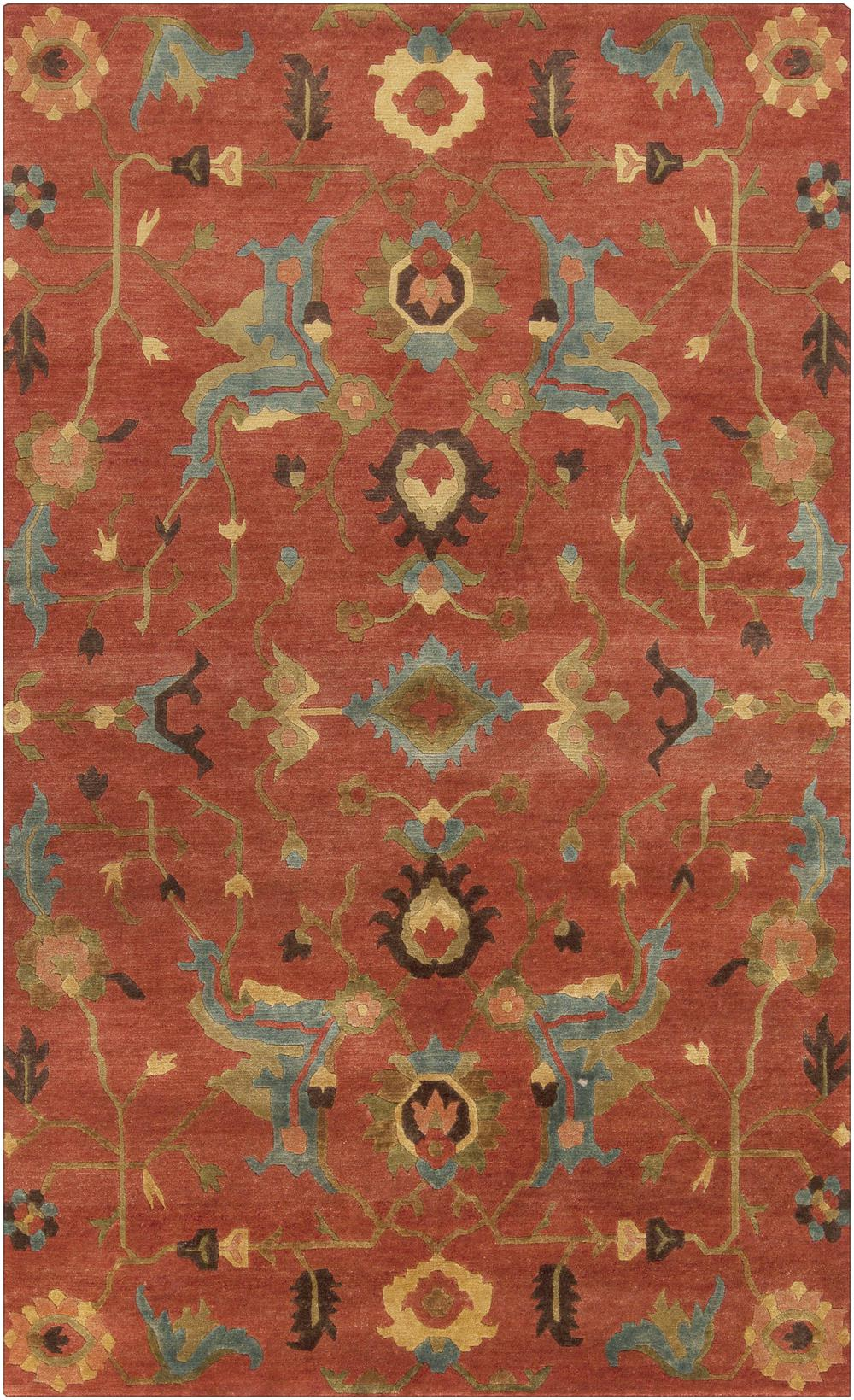 hover to zoom. surya anastacia ana orange area rug  free shipping