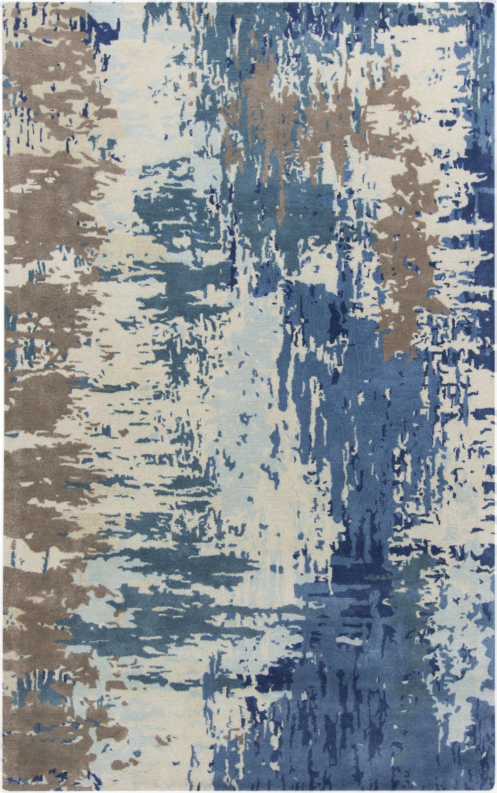 Surya Banshee BAN3342 Blue Area Rug | Free Shipping - Surya Banshee BAN3342. Hover to zoom