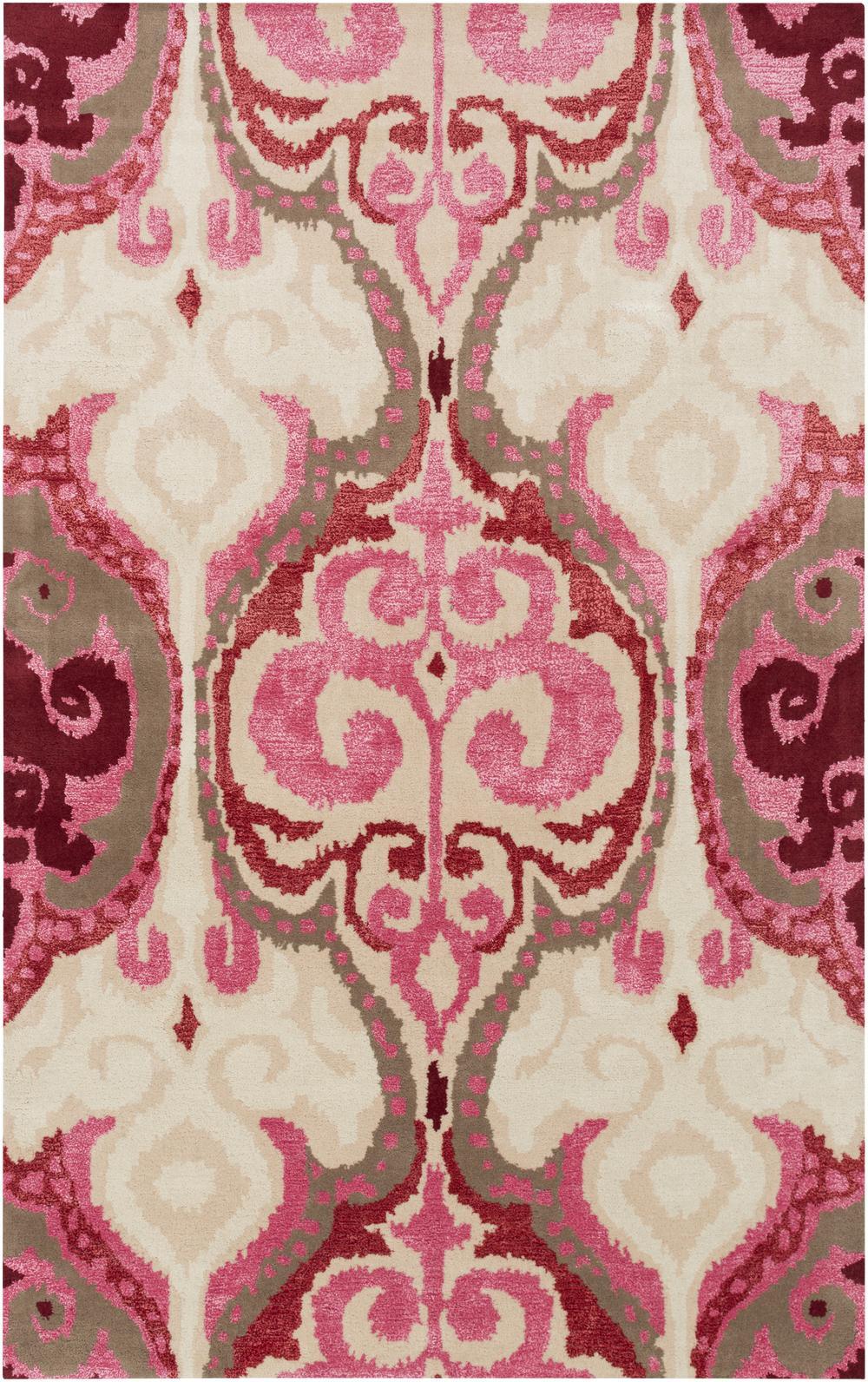 Surya Banshee BAN3349 Red Area Rug | Free Shipping - Surya Banshee BAN3349. Hover to zoom