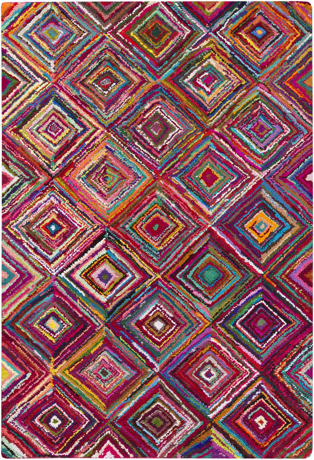 Surya Boho Boh2002 Purple Area Rug Free Shipping