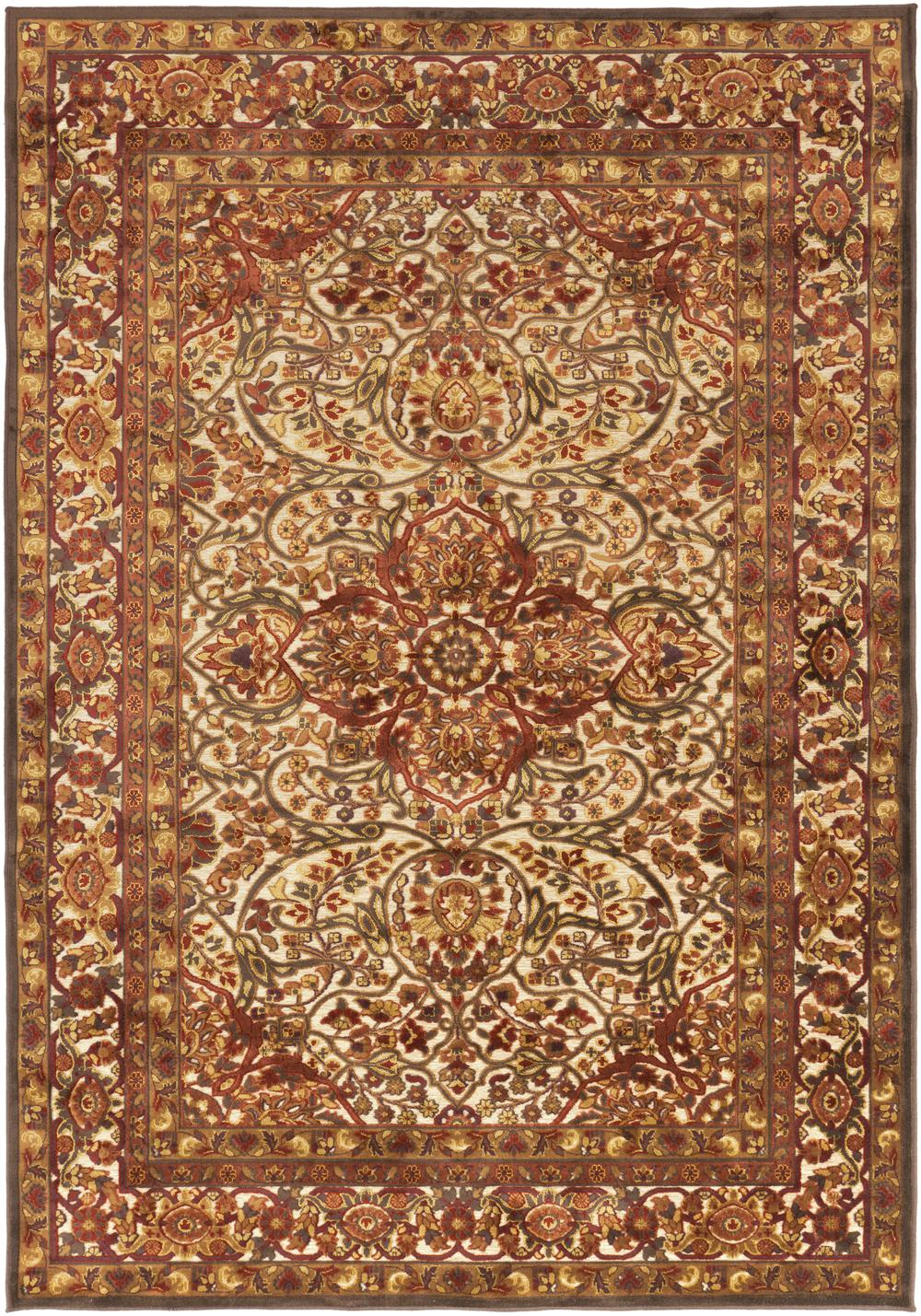 Surya Basilica Bsl7200 Orange Area Rug Free Shipping