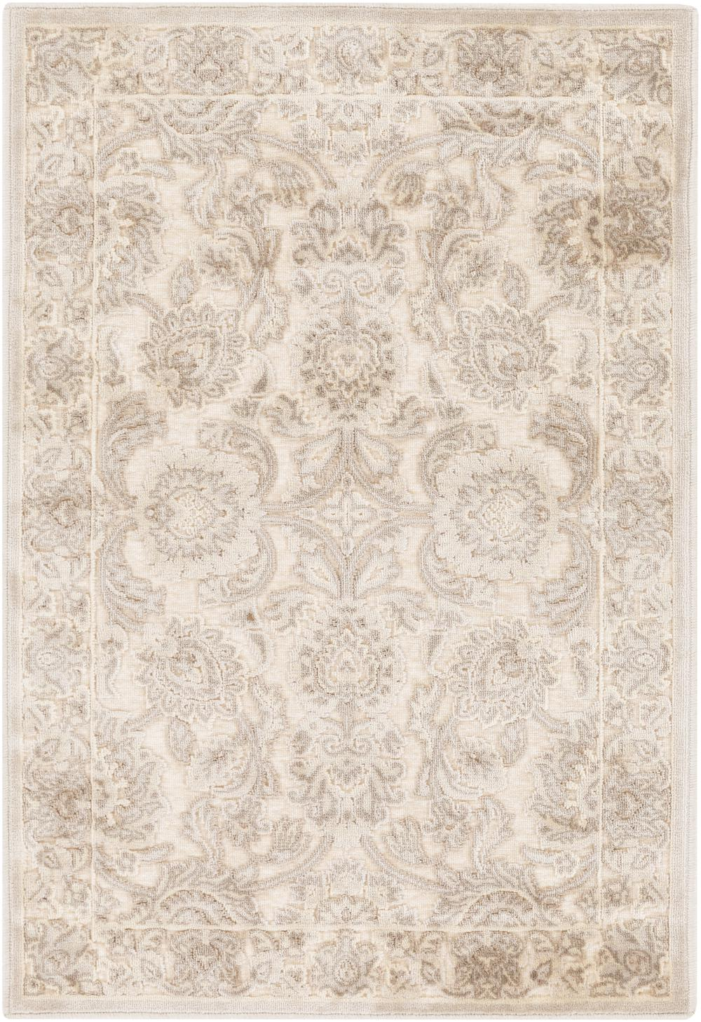 Surya Basilica Bsl7212 White Area Rug Free Shipping