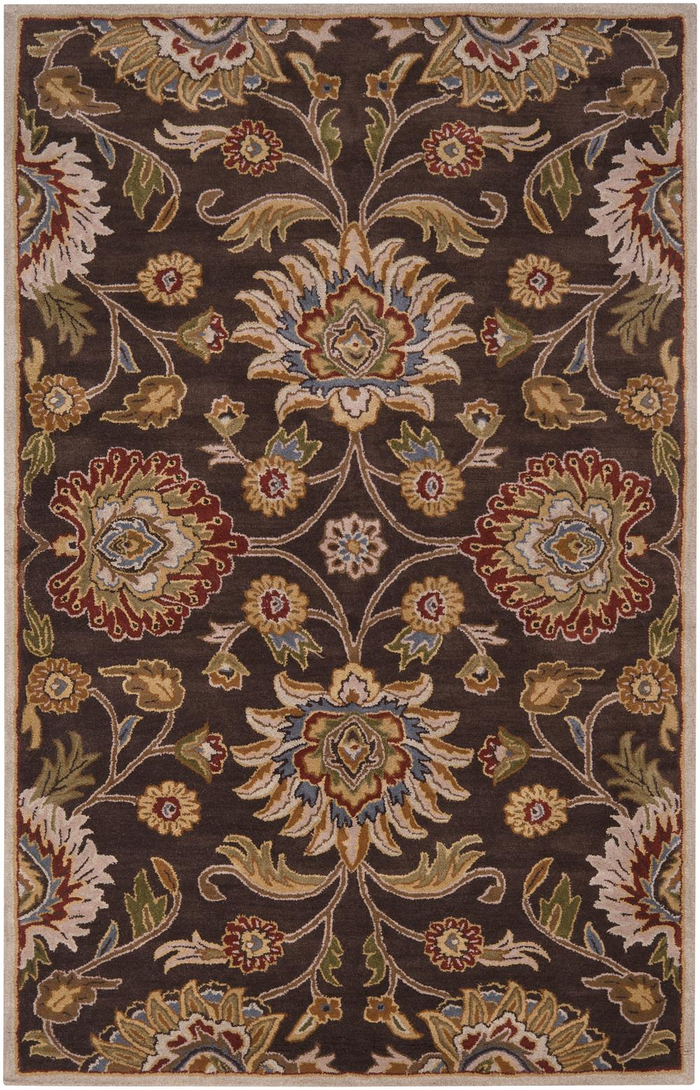 Surya Caesar Cae1051 Brown Area Rug Free Shipping