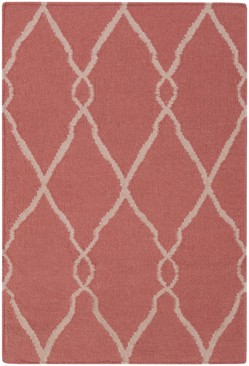 Surya Fallon Fal1002 Red Area Rug Free Shipping