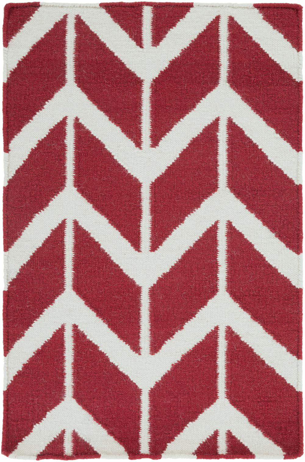 Surya Fallon Fal1053 Red Area Rug Free Shipping