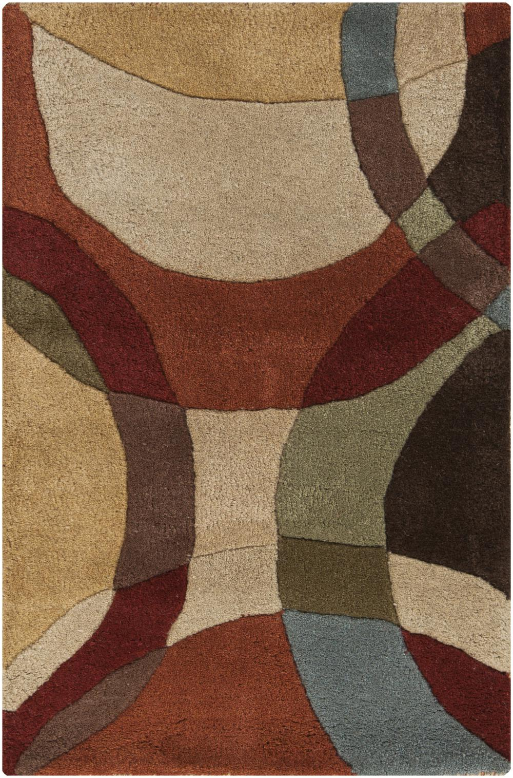 Surya Forum Fm7108 Brown Area Rug Free Shipping