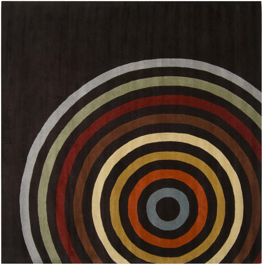 Surya Forum Fm7138 Brown Area Rug Free Shipping
