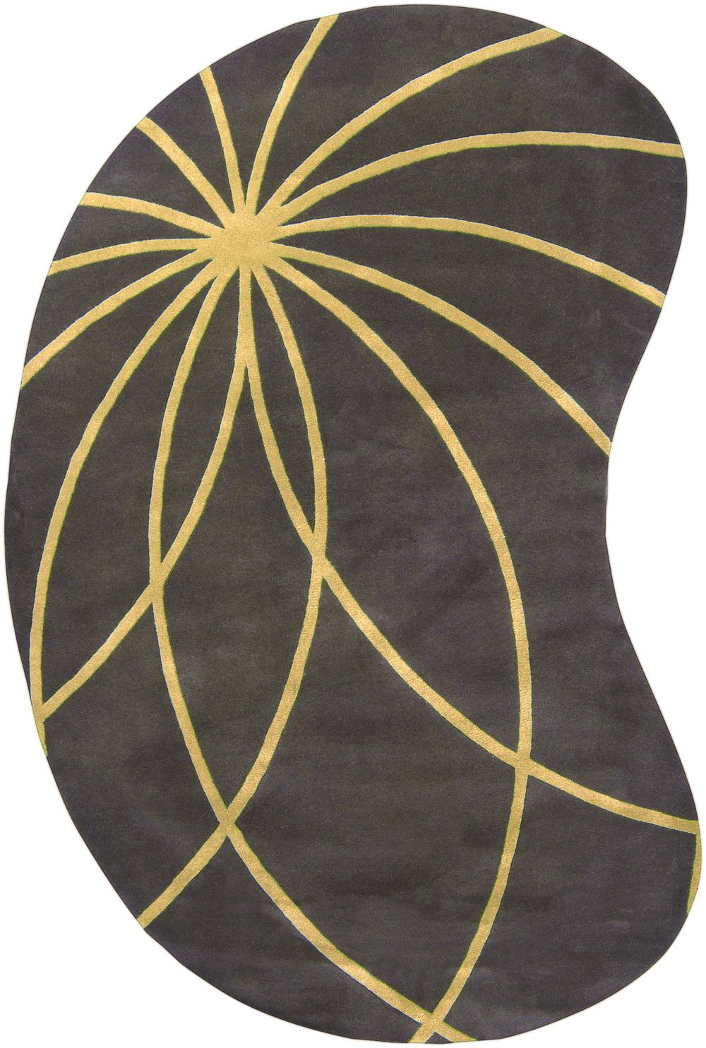 Surya Forum Fm7181 Yellow Area Rug Free Shipping