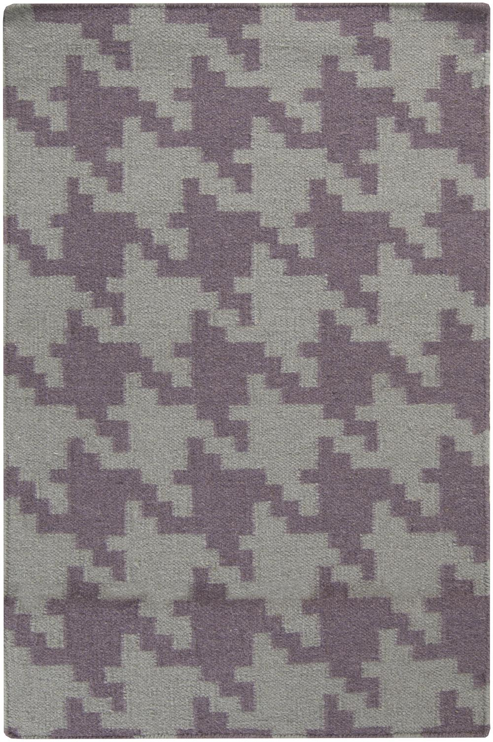 Surya Frontier Ft103 Purple Area Rug Free Shipping