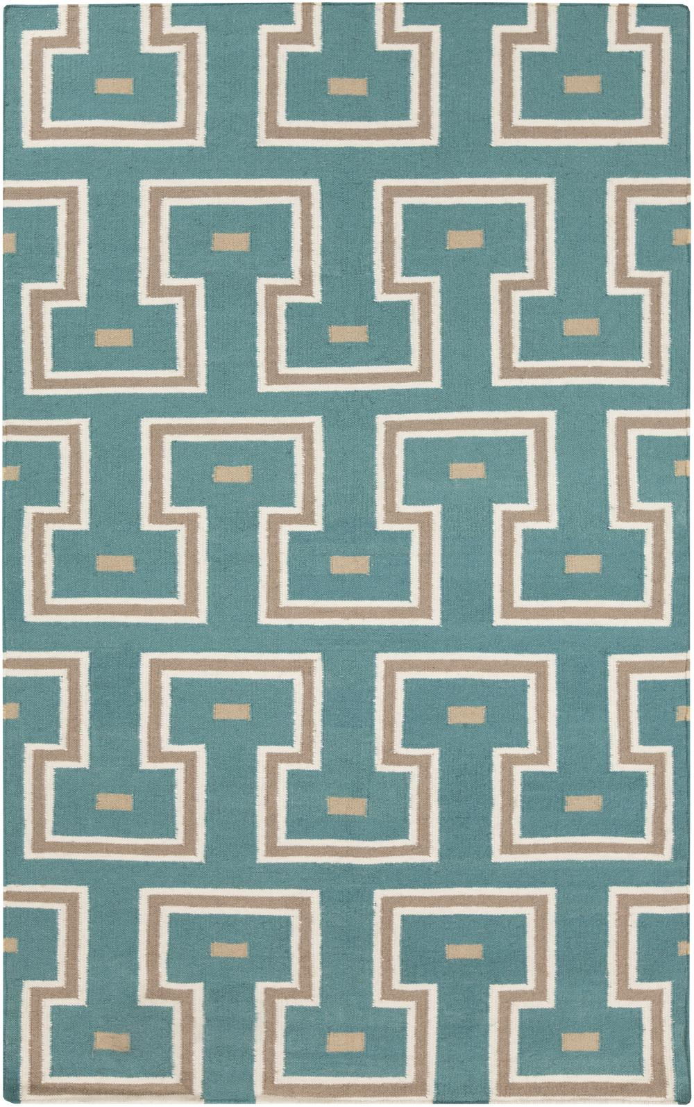 Surya Frontier Ft470 Blue Area Rug Free Shipping