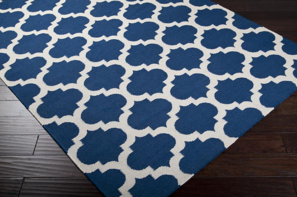 Surya Frontier Ft84 Blue Area Rug Free Shipping