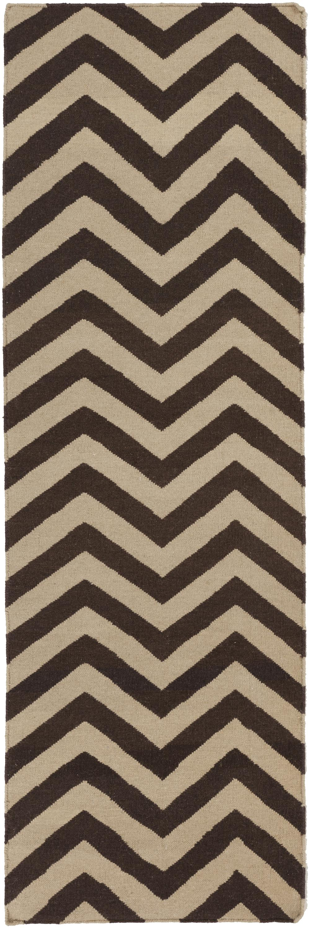 Surya Frontier Ft99 Brown Area Rug Free Shipping