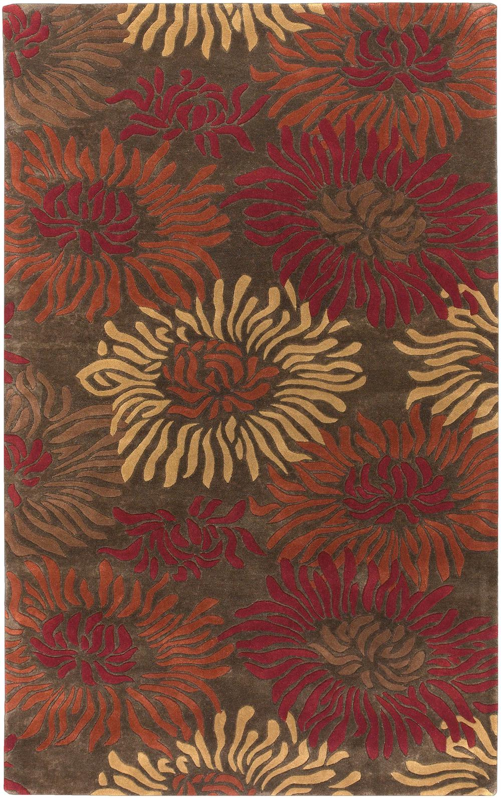 Surya Goa G229 Brown Area Rug Free Shipping