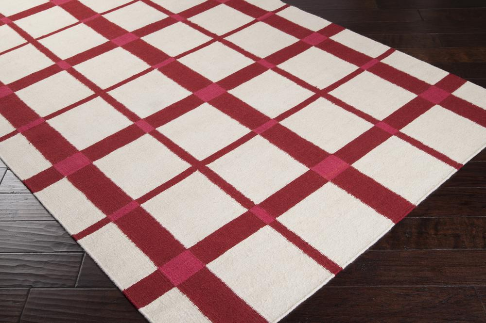 Surya Happy Cottage Hc5811 Red Area Rug Free Shipping