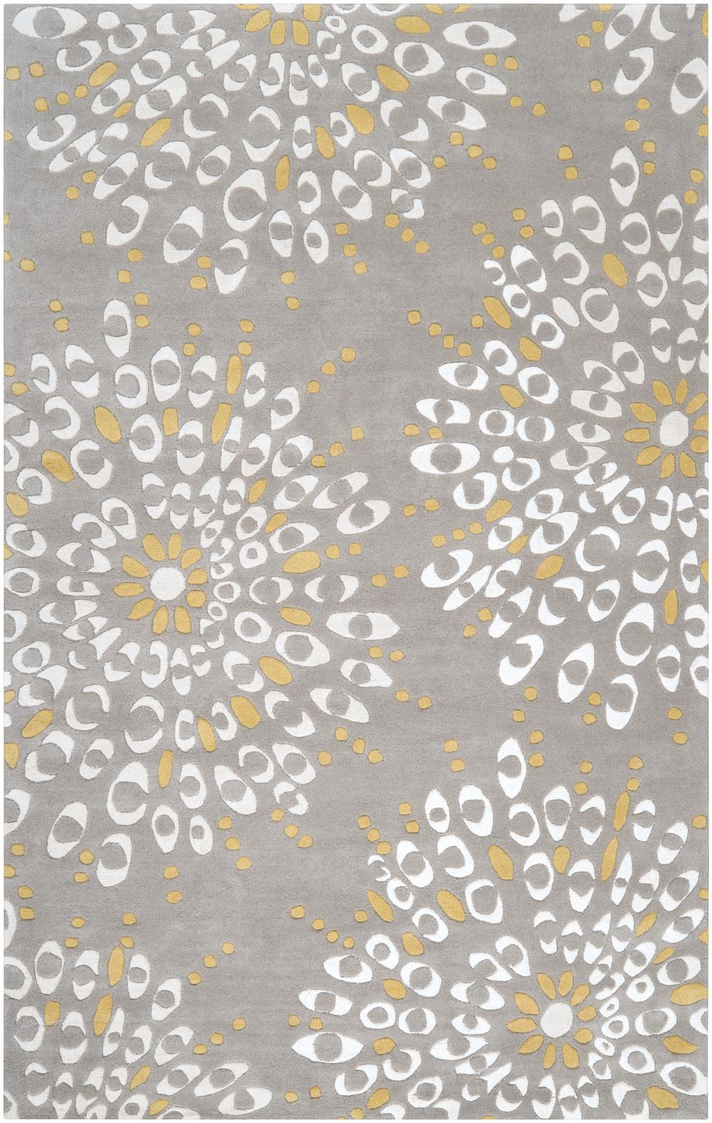 Surya Naya Ny5189 Yellow Area Rug Free Shipping