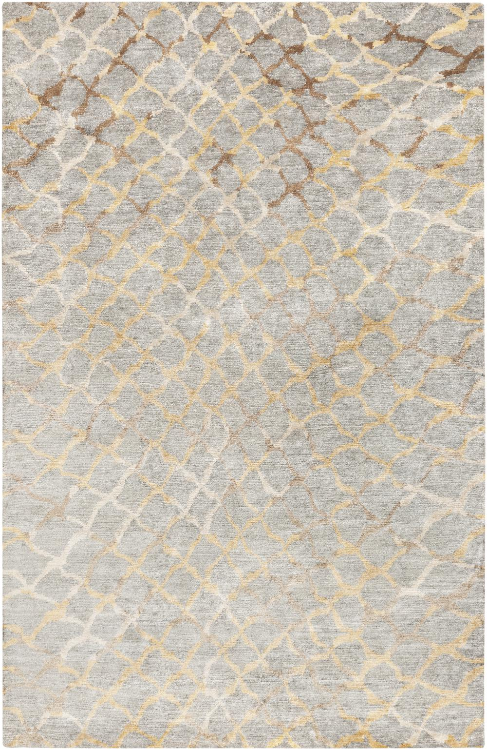 Surya Platinum Plat9018 Grey Area Rug Free Shipping