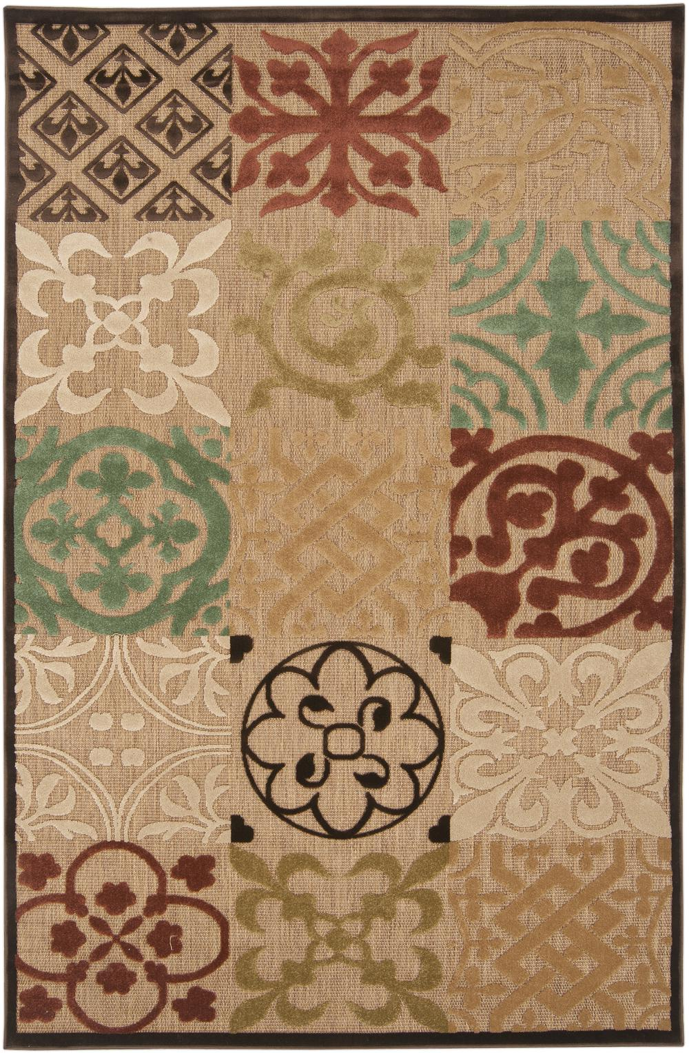 Surya Portera Prt1002 Brown Area Rug Free Shipping