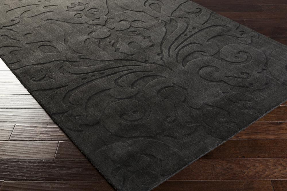 Surya Sculpture Scu7510 Grey Area Rug Free Shipping