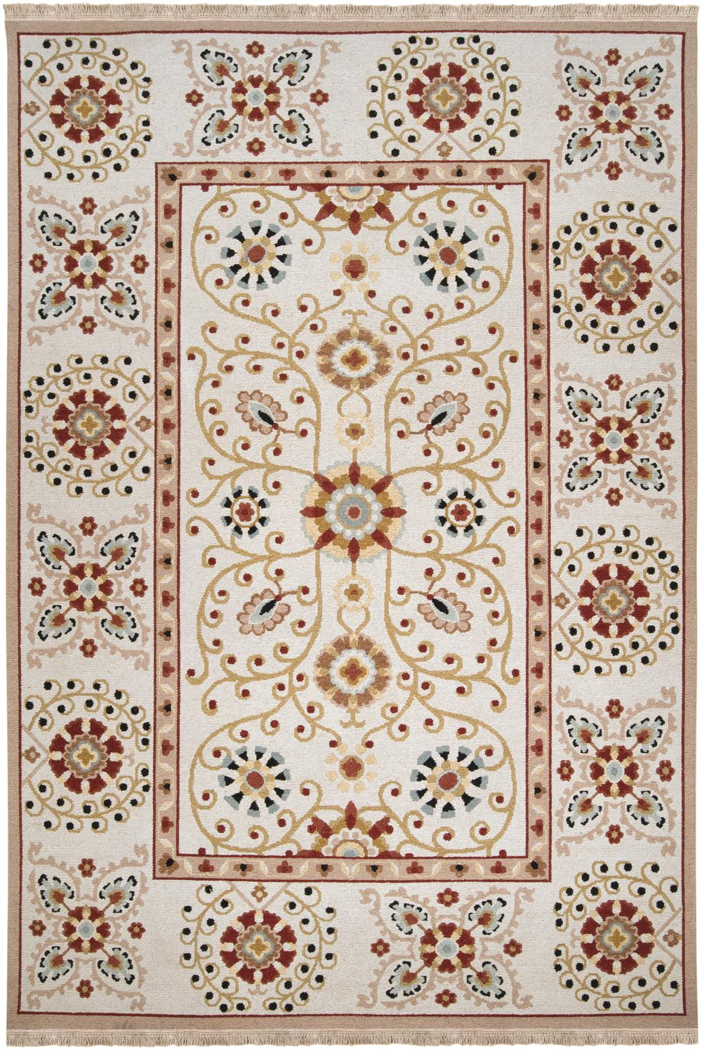 Surya Sonoma Snm9026 Red Area Rug Free Shipping