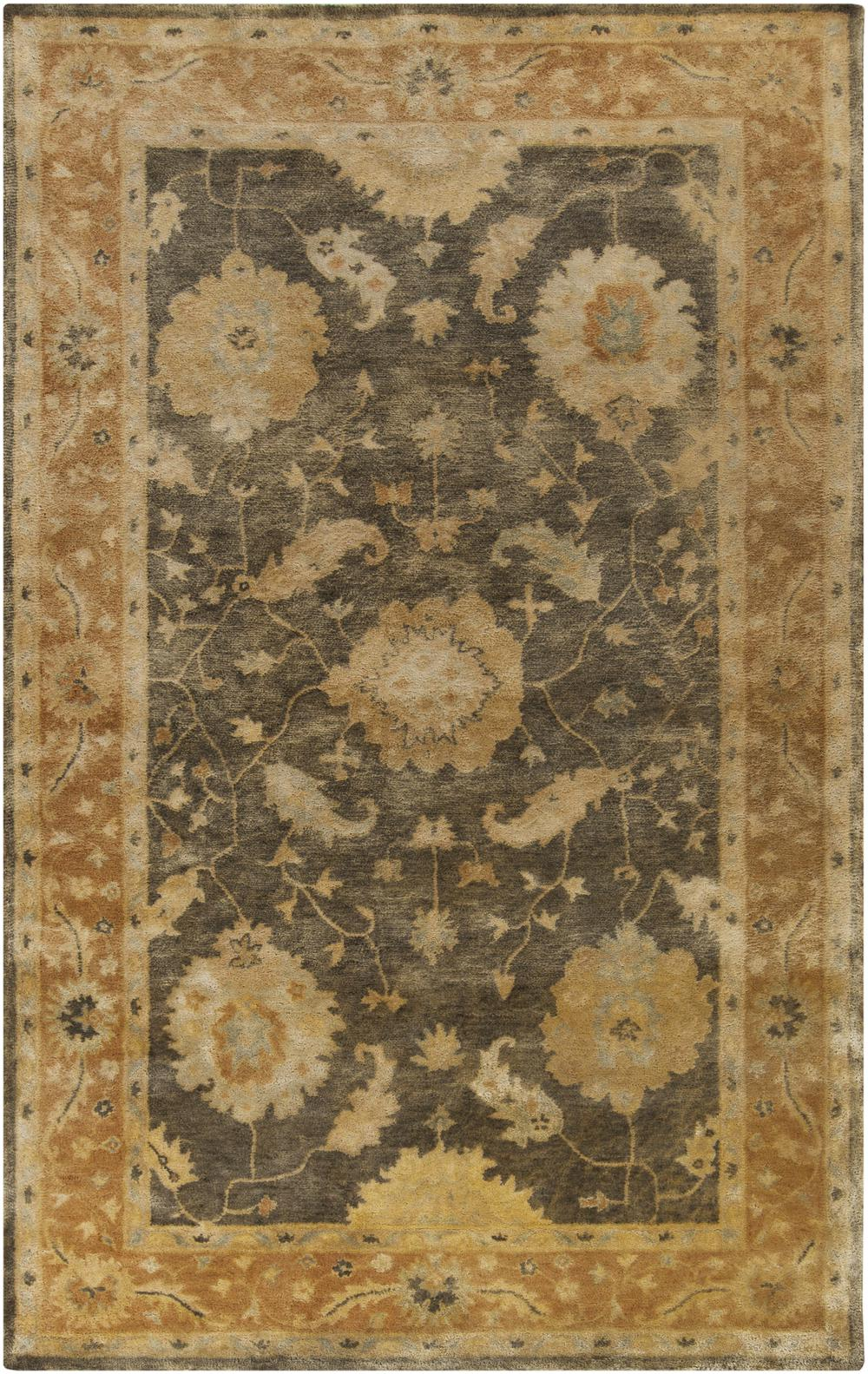 Surya Vintage Vtg5234 Green Area Rug Free Shipping