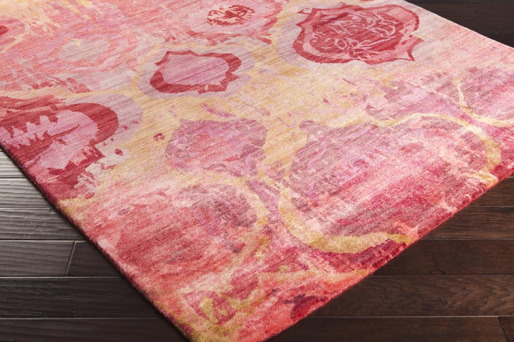 Surya Watercolor Wat5006 Red Area Rug Free Shipping