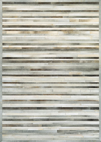 Couristan Chalet Plank and Grey/Ivory 0027/0101