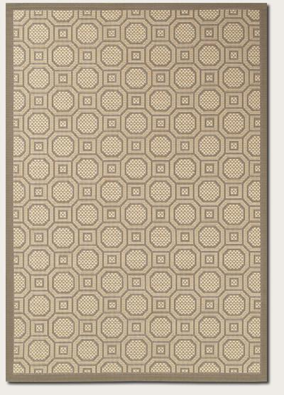 Couristan Five Seasons Sausalito and Beige 3099/2245