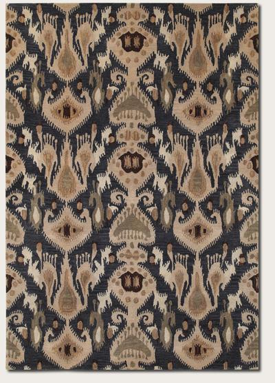 Couristan Sierra Vista Hayden and Blue/Beige 4063/0563