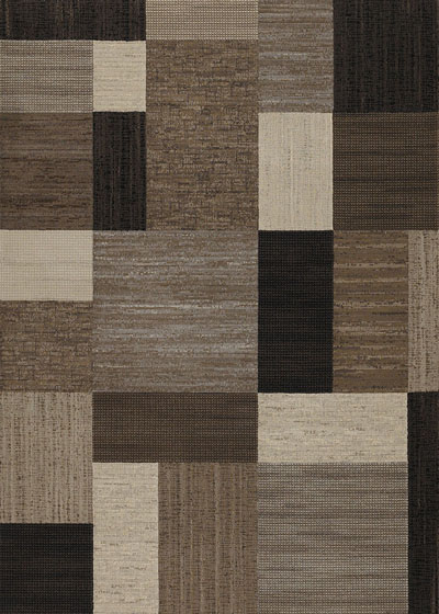 Couristan Everest Geometrics and Brown/Multi 6303/4343