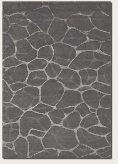 Couristan Impressions Flagstone and Grey/Silver 8091/2045