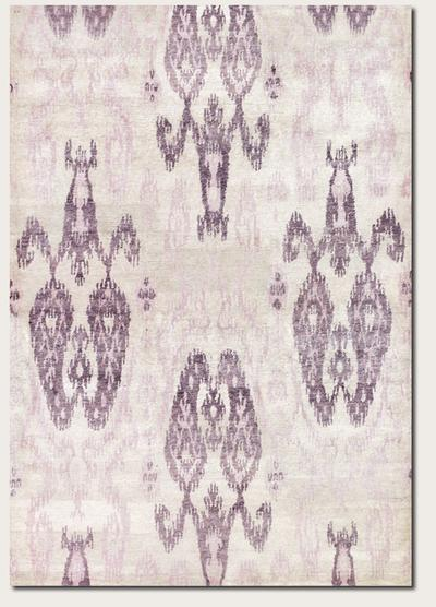 Couristan Sagano Zodiac and Ivory/Lilac 8845/0845
