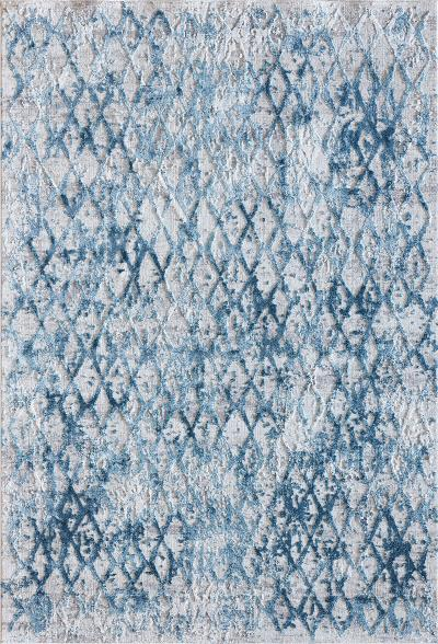Dynamic Rugs Quartz 27039-500 Ivory and Blue