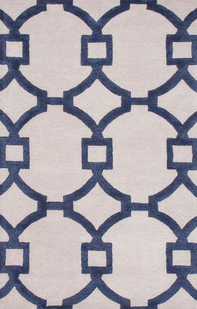 Jaipur City Regency Ivory/Blue CT57