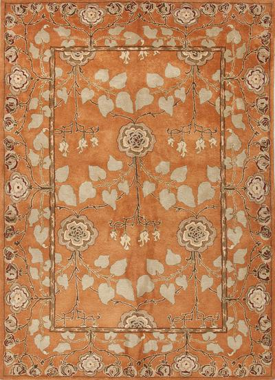 Jaipur Poeme Rodez Orange/Green PM57