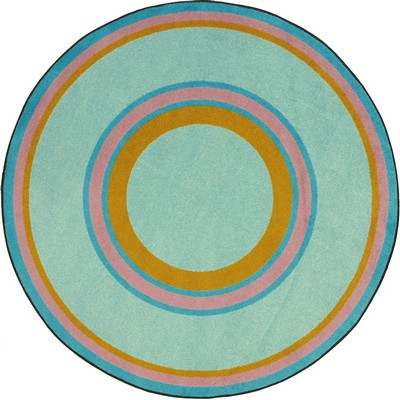 Joy Carpets Kid Essentials Ripples Teal