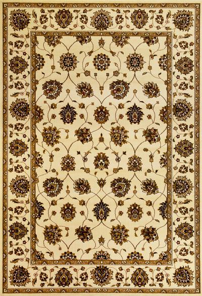 KAS Cambridge  7347 Ivory Tabriz area rug