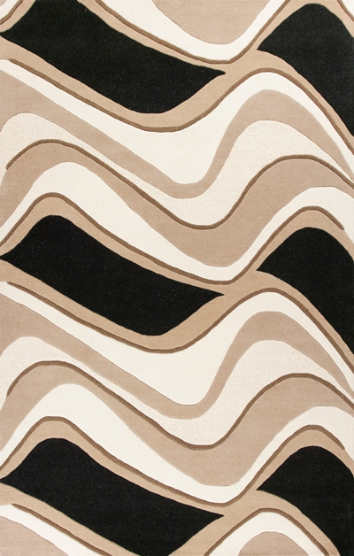 KAS Eternity  1071 Black/Beige Waves