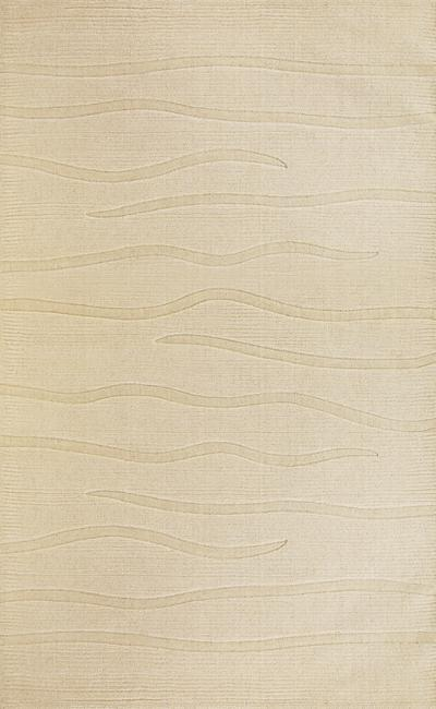 KAS Loft  2056 Ivory Waves area rug