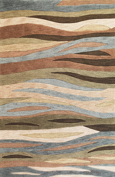 KAS Milan  2108 Green Breeze area rug
