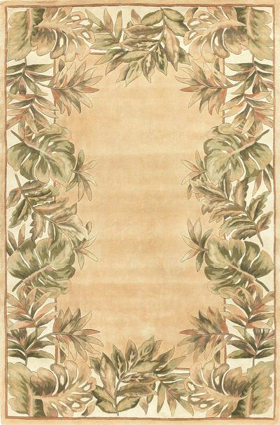 KAS Ruby  8996 Beige/Ivory Natural Fauna area rug