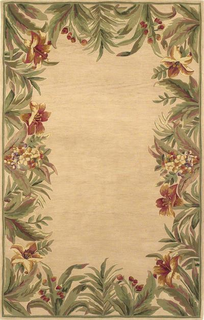 KAS Sparta  3151 Ivory Rainforest area rug