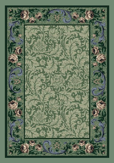 Milliken Innovations Rose Damask 06000 Peridot