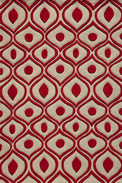 Momeni Bliss Red BS-09 area rug